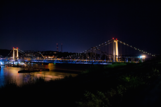 Carquinez Bridge - Carquinez Bridge in 2015 as seen from Vallejo, California.