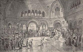 J. Comyns Carr - Scene from King Arthur