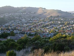 Carriage Hills, Richmond, California - Another view