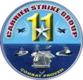 Carrier Strike Group 11 insignia (US Navy) 2016.png