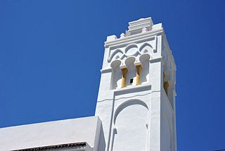 Ali Bitchin Mosque Building in Algeria