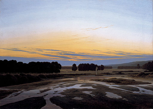 Caspar David Friedrich - The Grosse Gehege near Dresden - Google Art Project