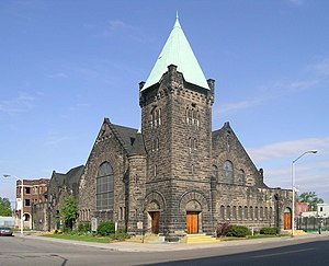 George D. Mason - Cass Avenue Methodist Episcopal Church (1883)