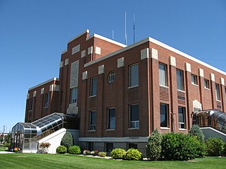 Burley, Idaho - Cassia County Courthouse Idaho