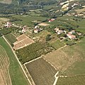 Castagnole delle Lanze, veduta aerea - La borgata di Santa Maria.jpg