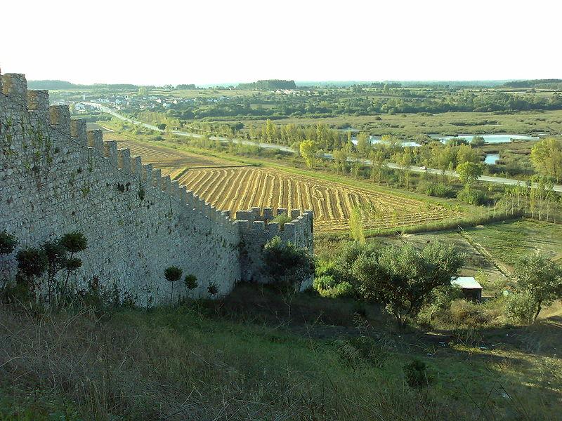 Ficheiro:Castelo de Montemor-o-velho (vista exterior da muralha).jpg