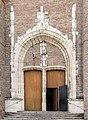 Castelsarrasin - Eglise Saint-Sauveur - Portail nord du xve siècle.jpg