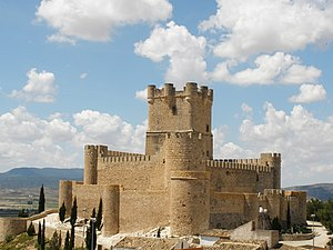 Juan Manuel, Prince of Villena - Castle of Villena, capital of Seigneury of Villena.