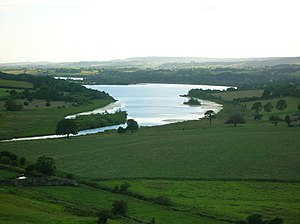 Clyde Muirshiel Regional Park - Castle Semple from the 'Temple' hill.