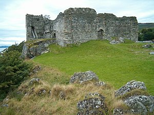 Clan MacMillan - Castle Sween, historic seat of the Clan MacMillan