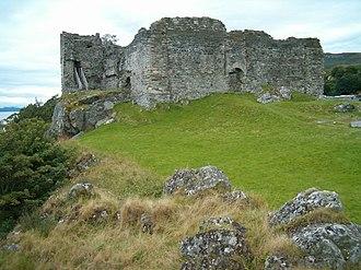 Clan MacMillan - Castle Sween, historic seat of the Clan MacMillan