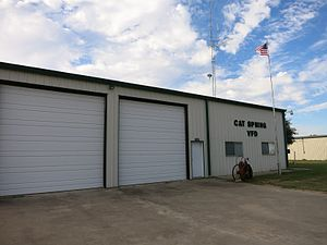 Cat Spring, Texas - Image: Cat Spring TX VFD