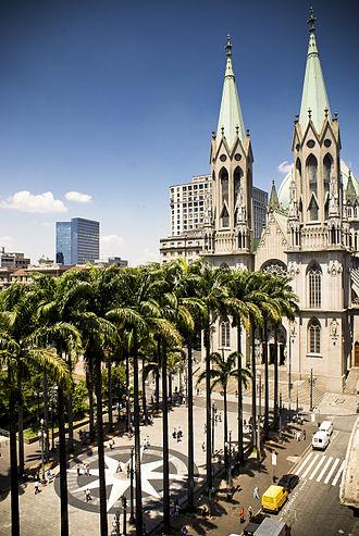 Praça da Sé - Image: Catedral Sé