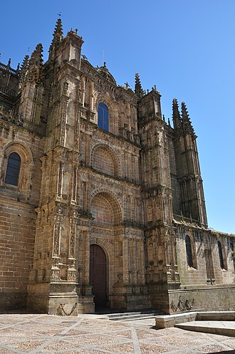 Plasencia - The cathedral of Plasencia