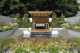 Tatton Park Flower Show - Image: Cater Allen Garden