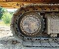 Caterpillar 330B Hydraulic Excavator track wheel - Hillsboro, Oregon.JPG