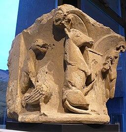Cathedrale romane - chapiteau 2-2