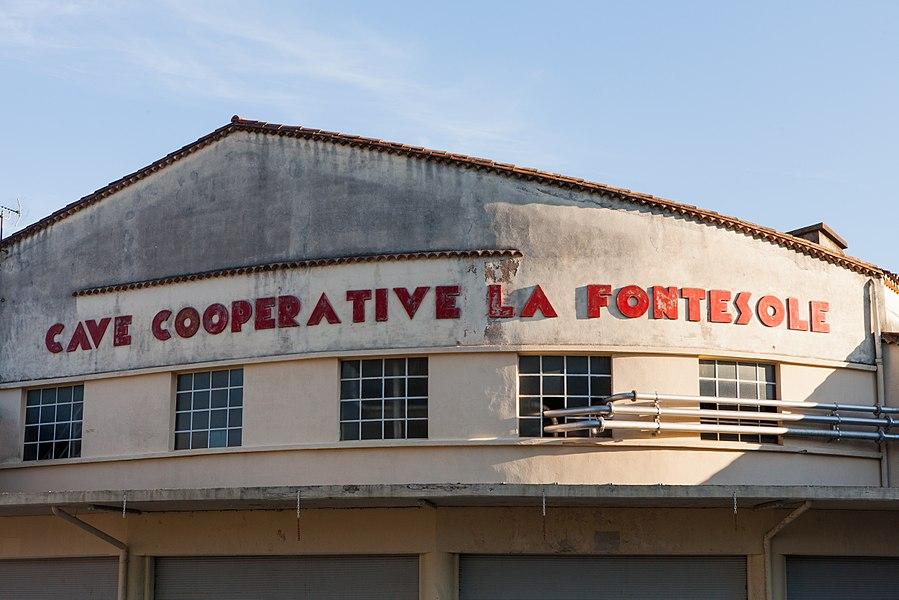 Cave coopérative La Fontesole (Fontès, Hérault)