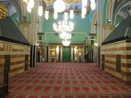 Cave of Patriarch - mosque 2.JPG