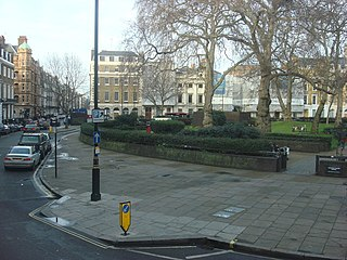 Cavendish Square public square in the West End of London, England