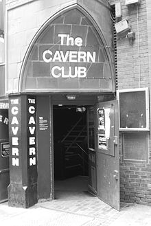 La devanture du Cavern Club.