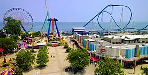Roller coasters and attractions