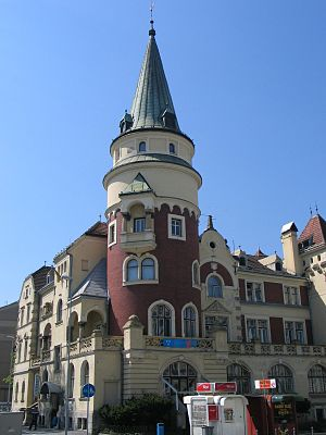 Styria (Slovenia) - Image: Celje Celjski dom 001