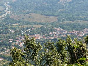 Celle di Bulgheria - Panorama from the mount Bulgheria