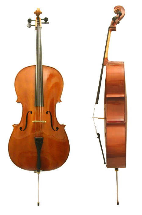 Cello front side