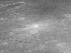 Censorinus (crater) - Similar view from Apollo 11