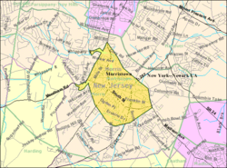 Census Bureau map of Morristown, New Jersey Interactive map of Morristown, New Jersey
