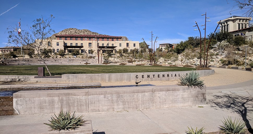 Centennial Plaza at UTEP