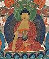 Center detail, Tibet, thangka, 18th century - Mandara (pantheon) - 1917.889 - Cleveland Museum of Art (cropped).jpg