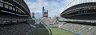 Copa América Centenario - Image: Century Link Field panorama from Section 324 (21182723826)