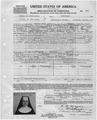 Certificate of Loyalty for Gottlieb Ekert. - NARA - 282078.tif