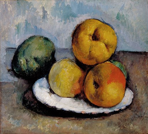 Cezanne - Still Life With Quince, Apples, and Pears