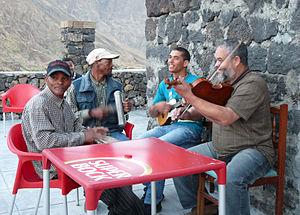 Chã das Caldeiras-Musiciens