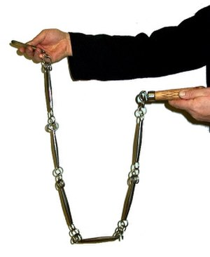 Chain whip - An example of a chain whip