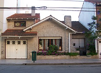Mar del Plata style - A typical chalet marplatense
