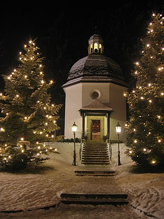 Silent Night - Silent-Night-Chapel in Oberndorf, Austria, stands on the site where the song was first performed