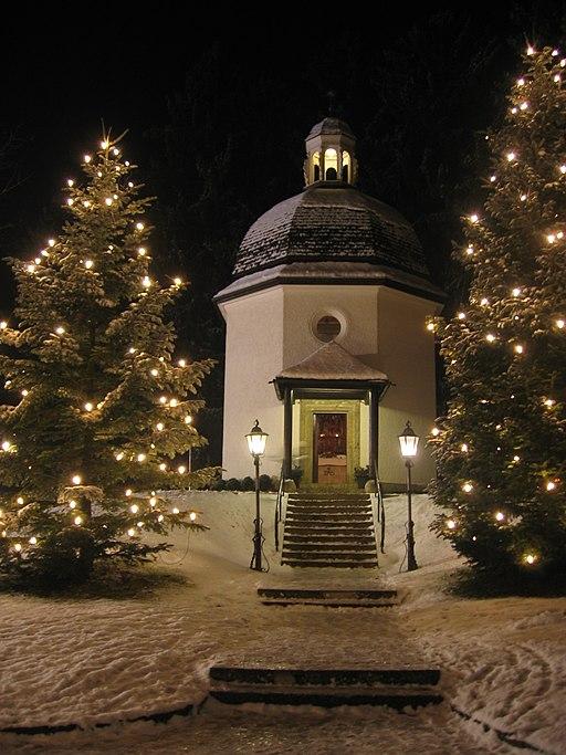 Stille-Nacht-Kapelle in Oberndorf bei Salzburg
