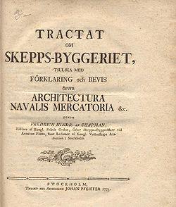 Chapman Tractat 1775 firstpage.jpg