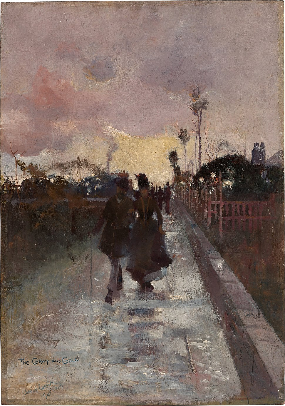 Charles Conder - Going home (The Gray and Gold) - Google Art Project