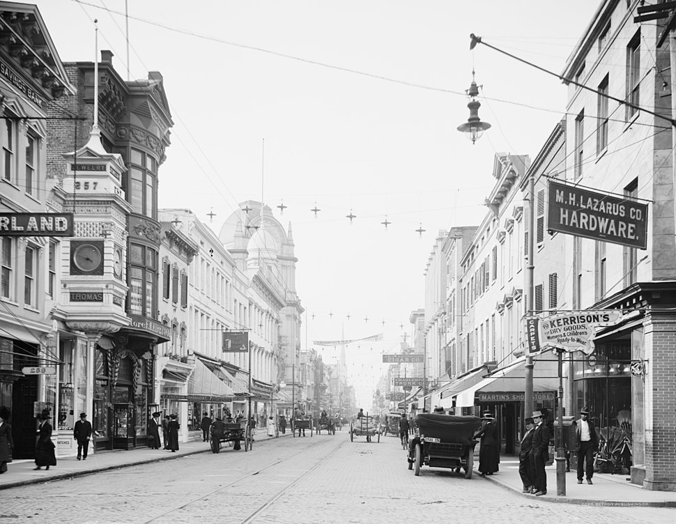 Charleston King Street c1910 1920 LOC 4a24156u