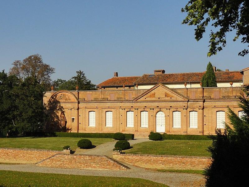 Château de Fourquevaux (Orangerie), Haute-Garonne, France.