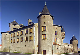 The chateau in Luttange