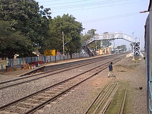 Chatra railway station - Image: Chatra station