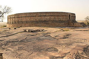 Kachchhapaghata dynasty - Image: Chausath Yogini Temple, the platform