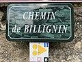 Chemin de Billignin (Billignin) panneau.jpg