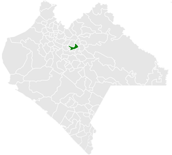 Municipality of Chenalhó in Chiapas